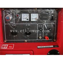 Generador diesel automático del comienzo 5kw