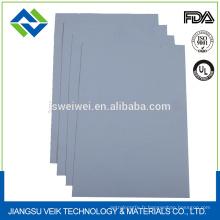 Tissu antiadhésif en fibre de verre enduit de silicone résistant aux produits chimiques