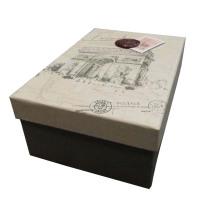 Boîte d'emballage cadeau en papier rigide personnalisée