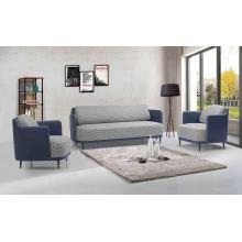 Preço de venda total Tecido moderno de tecido macio de sala de estar em couro macio
