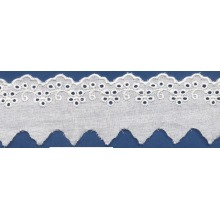 Vintage ribete de encaje de tela del vestido de encaje/rayón rayón bordado