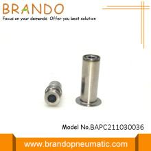 Induit argenté de valve de solénoïde avec le diamètre 11mm
