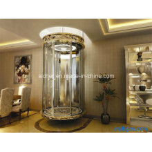 Sicher 800 kg Ascensor panorámico de cristal