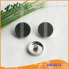 Bouton en alliage de zinc et bouton en métal et bouton de couture en métal BM1641