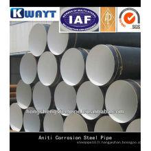 Tuyau en acier anti-corrosion sans soudure