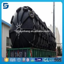Amortisseur de protection de dock de Yokohama avec le pneu de l'avion