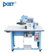 DT706A borde digital plegable pegado traje de la máquina industrial para cuero y pu