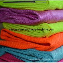 Tissu Lycra de Shapewear de tissu de vente chaude de semi-lustre