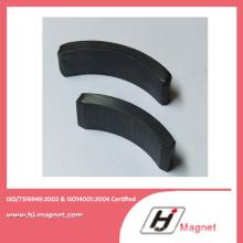 Imã de Ferrite de arco fabricado pela fábrica de Customerized de alta potência