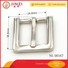 China manufacture company brand belt adjustable buckle