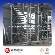layer/ringlock scaffolding standard/vertical