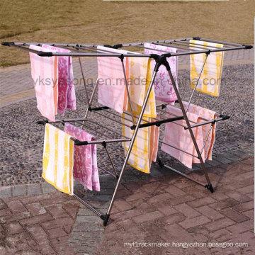 Multi-Funtion Aliform Folding Hanging Clothes Drying Rack