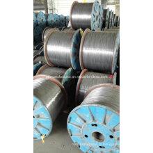 1X7 brin d'acier galvanisé à chaud 5mm