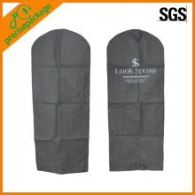 tampa não tecida do terno do saco de vestuário da forma reusável do eco com tipo do cliente