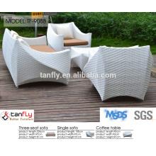 white rattan weaving handmade sofa chesterfield