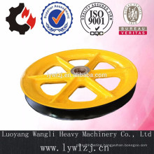Customize Cast Carbon Steel Sheave Pulley