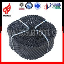 250mm Shangyu hohe Hitze pvc runden Gegenstrom Kühlturm füllen