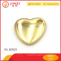 Cool heart shape decoration with high quality zinc alloy , handbag accessories .