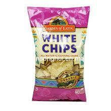 Saco De Embalagem De Chips Branco / Saco De Embalagem De Lanche De Plástico