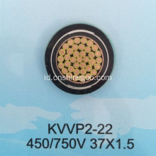 Copper conductor PVC insulated 24 core control cable