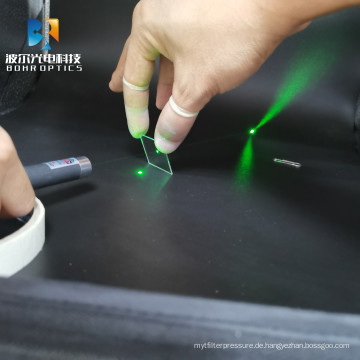 20*20*1.1mm 60T/40R optische Filterplatte Strahlteiler