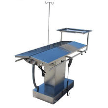 304 stainless steel veterinary surgery table with constant temperature heater