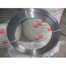 Galvanized Oval Wire 2.4X3.0mm for Horse Fence