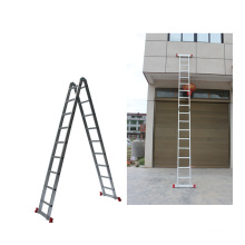 factory price 4 meters aluminium straight ladder for outdoor use