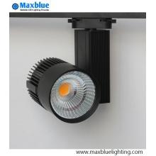 Iluminación comercial regulable CREE COB LED Track Lighting