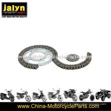 Ensemble de roues motrices et chaînes adaptées