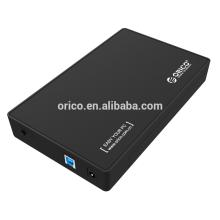 ORICO vente chaude 3,5 pouces USB 3.0 à SATA boîtier de stockage externe disque dur capacité d'enceinte 4TB
