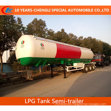 56cbml LPG Tanker Semi Traier3 Axles LPG Semi-Trailer 6 Wheels LPG Tank Semi Trailer