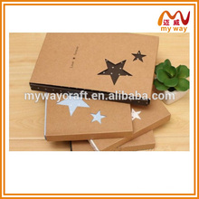 Hollow out office stationery series of cardboard cover notebook