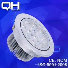 Lange Lebensdauer weiße Gehäuse / warmen LED-Decke-Spot Licht Leuchte 12W