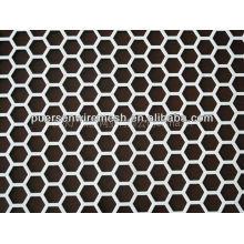 Perforated Metal Sheet (hexagonal)