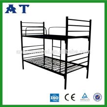 Students Popular Bunk Bed Steel Single Bed Double Bunk Beds Bunk Bed With Safe Ladder & Protective Barrier