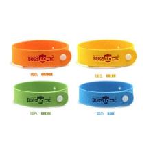 Factory OEM Natural Citronella Mosquito Repellent Wrist Band