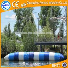 Multi-color saco de ar pneumático inflável para esqui, profissional calor selagem água travesseiro / blob água preços