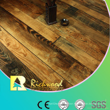 12.3mm E1 HDF AC3 Embossed V-Grooved Waxed Edged Laminate Floor