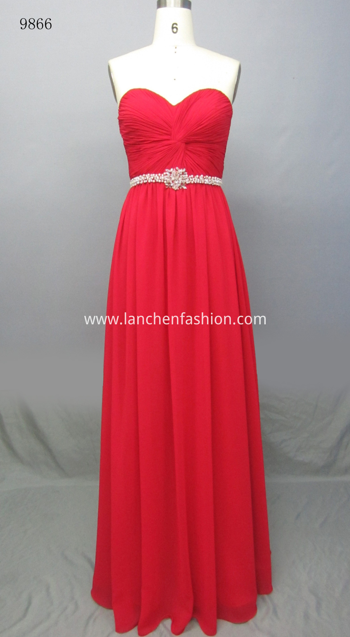 Elegant Vintage Long Dress