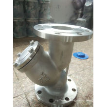 Y Type Strainer Flange End Stainless Steel Strainer