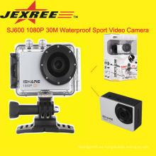 JEXREE SJ200 cámara de vídeo impermeable hd 1080p cámaras digitales casco de deporte