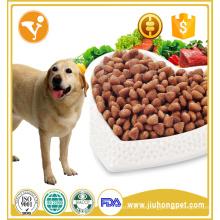 Fábrica de ventas de alta calidad de carne de vacuno orgánico sabor de comida de perro seco