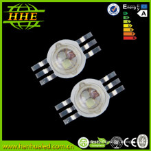 Factory price 3 in one 3w RGB High Power LED Diode 6 pins 3 chip