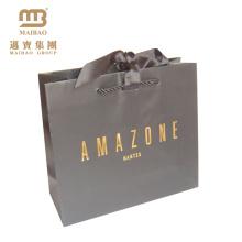 Alibaba Proveedor Personalizado Impreso Favores de Partido de Lujo Bolsas de Regalo de Papel de Boda de Diseño Personalizado Para Dama de Honor