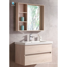 VT-085 Small bathroom vanity sink cabinet bathroom home used wood bathroom cabinets with solid color