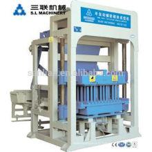 QT4-25 Machine à briques creuses Machine à fabriquer des blocs pour petites entreprises