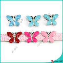 Émail 8mm papillon diapositives charmes en gros (SC15040956)