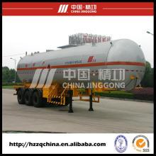 Camión de nitrógeno líquido, semi-remolque del tanque de Gas licuado (HZZ9400GYQ)