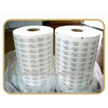 Papier d'emballage de boursouflure de stérilisation médicale